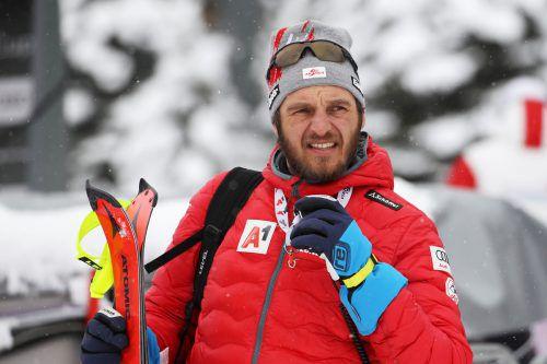 """Damen-Cheftrainer Christian Mitter sah im Slalom einen """"tollen Angriff"""".gepa"""