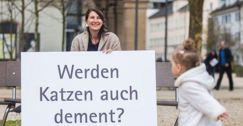 Daniela Egger ist Schriftstellerin und sensibilisiert als Kulturvermittlerin für wesentliche Themen wie Klimaschutz und Demenz. VN/Steurer