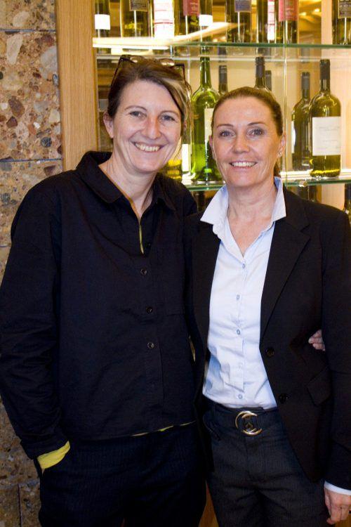 Daniela Egger (l.) und Carolin Frei organisierten den gelungenen Abend.