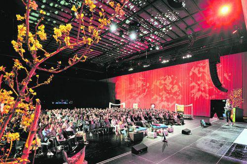 """Das """"Female Future Festival"""" am Mittwoch, 18. März 2020, im Festspielhaus Bregenz gilt als größtes Event für Frauen in Österreich.veranstalter"""