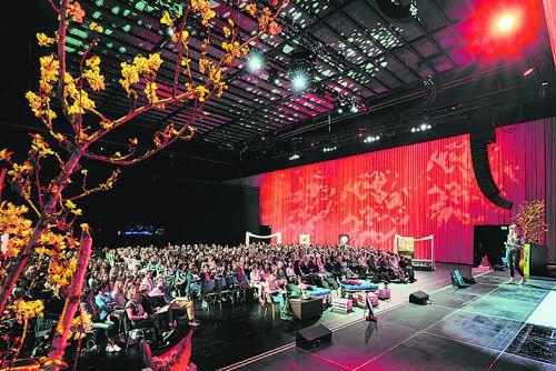 """Das """"Female Future Festival"""" findet am18. März im Festspielhaus statt. veranstalter"""