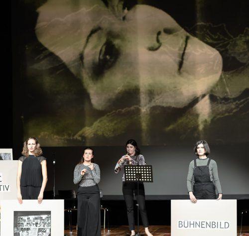 Das Kollektiv XYlit aus Leipzig hat den Wettbewerb gewonnen und wird sein Stück über Paula Ludwig umsetzen. zwischentöne/rhomberg