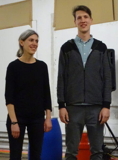 Das Künstlerduo Jan F. Kurth und Anna von Schrottenberg. tf