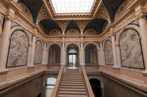 Das Künstlerhaus am Karlsplatz wurde generalrenoviert. Apa