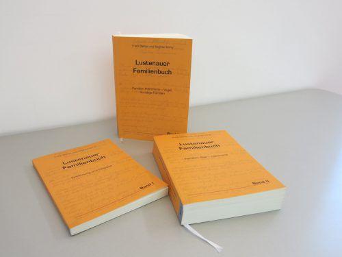 Das Lustenauer Familienbuch wird laufend aktualisiert. Gemeinde