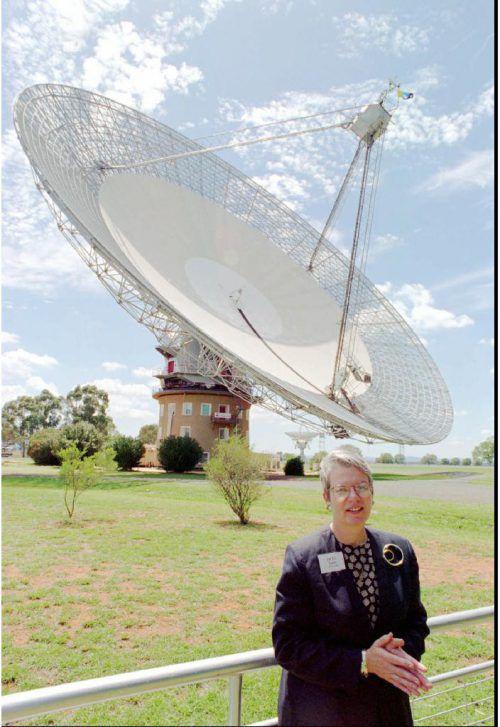 Das Parkes-Radioteleskop in Australien zeichnete vier Jahre lang mögliche Funksignale aus der Milchstraße auf, Forscher hoffen auf Zeichen außerirdischer Zivilisationen.  ap
