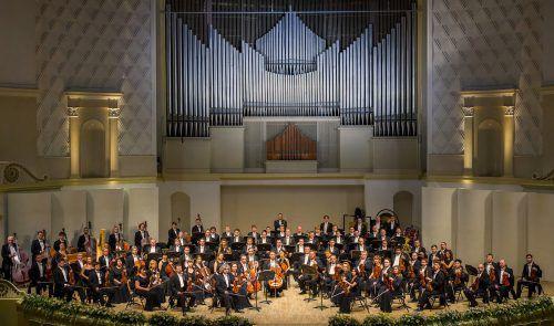 Das staatliche Sinfonieorchester Russland gastiert im Rahmen der Bregenzer Meisterkonzerte im Festspielhaus.                              Alexander von Busch