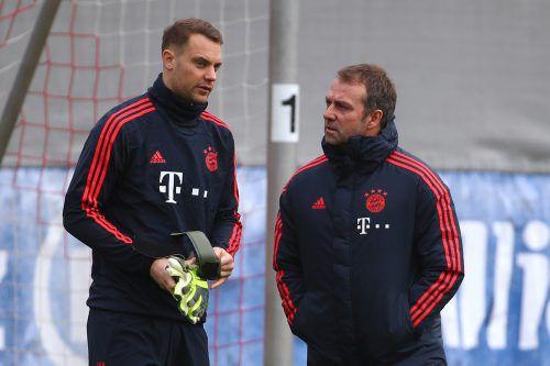 Das Ziel ist für Manuel Neuer und Hansi Flick klar, die Blues sollen nicht zur Stolperfalle werden. Der Gegner ist aber kein einfacher.reuters