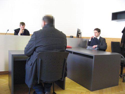 Der Angeklagte gebärdete sich bei der Verhandlung am Landesgericht Feldkirch recht unverschämt. eckert