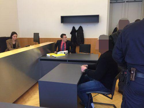 """Der Angeklagte hat bereits eine lange """"Rauschgiftkarriere"""" hinter sich.VN/GS"""