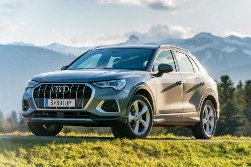 Der Audi Q3 profitiert auch vom Zugewinn an positiven optischen Eigenschaften.VN/Stiplovsek