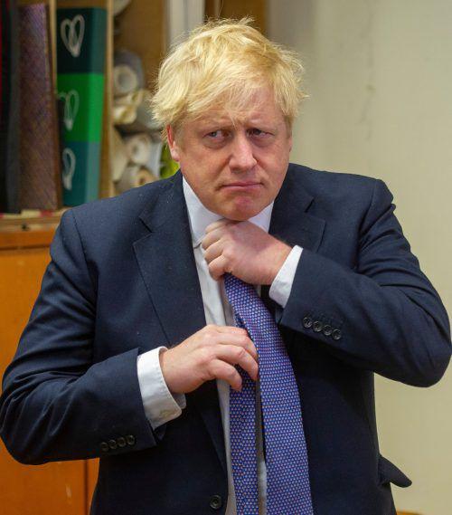 Der britische Premier Boris Johnson geht mit der EU auf Kollisionskurs.AFP