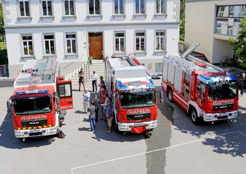 Der Fuhrpark der Feuerwehr Weiler wird modernisiert. Gemeinde/Fritz