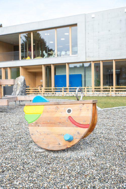 Der Kindergarten Marktstraße kostete rund sechs Millionen Euro. Er wurde vor rund zwei Jahren eröffnet. ber