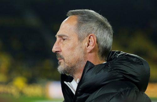 Der Name Adi Hütter fällt derzeit im Zusammenhang mit dem BVB.Reuters