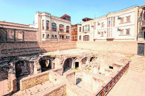 Der Palast bietet einen Einblick in die Geschichte der Stadt.