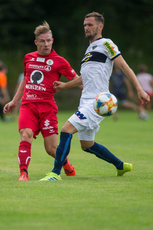 Der SCR Altach hat zur Generalprobe den FC Dornbirn als Testspielgegner.Steurer