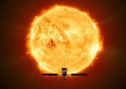 """Der """"Solar Orbiter"""" startet voraussichtlich am 10. Februar von Cape Canaveral aus und macht sich auf den Weg zur Sonne. ESA"""