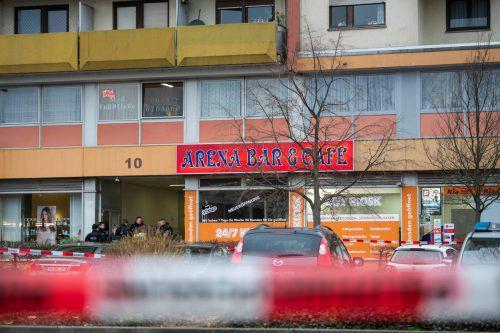 Der Täter eröffnete in einer Shisha-Bar das Feuer.