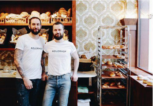 Die Adlerhofchefs: Manuel Köpp und Andreas Knünz.