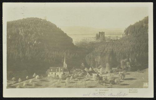 Die Burg Neu-Montfort wurde 1311 bis 1319 errichtet.