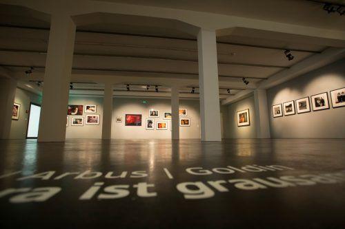Die Dornbirner Ausstellung mit Arbeiten von Lisette Model, Diane Arbus und Nan Goldin wird ans Centro de Creación Contemporánea in Cordoba weitergeleitet. VN/Paulitsch