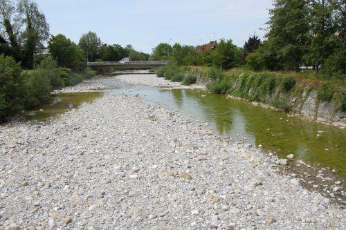 Die Dornbirnerach im Juli 2019: Die Stadt will mit dem Umweltprogramm etwas fürs Klima tun. MAyer