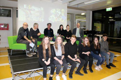 Die Experten, Direktor Weber und HAK-Jugend. HAK/HAgen