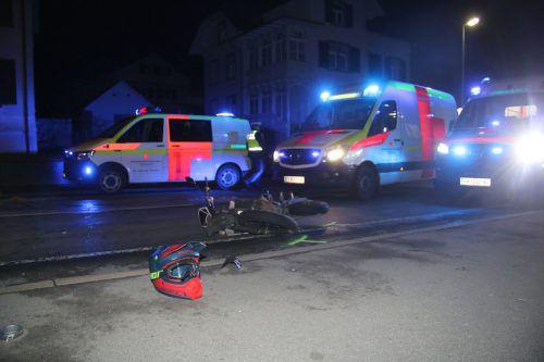 Die Kollision ereignete sich auf der Haselstauderstraße.