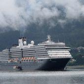 Kreuzfahrtschiff suchte Hafen ohne Panik wegen Coronavirus