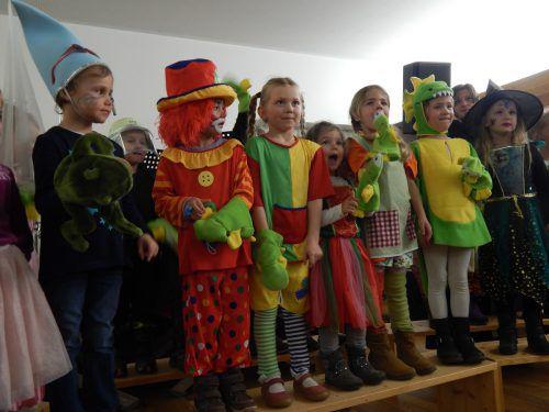 Die Musikschule Leiblachtal präsentiert lustige Lieder in Lochau.