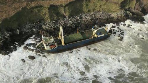 Die MV Alta trieb seit eineinhalb Jahren manövrierunfähig im Atlantik. AP