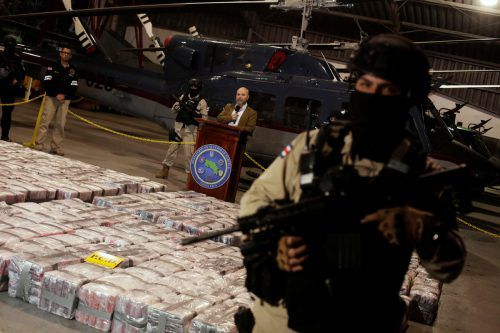 Die Polizei in Costa Rica hat eine Rekordmenge Kokain sichergestellt. reuters