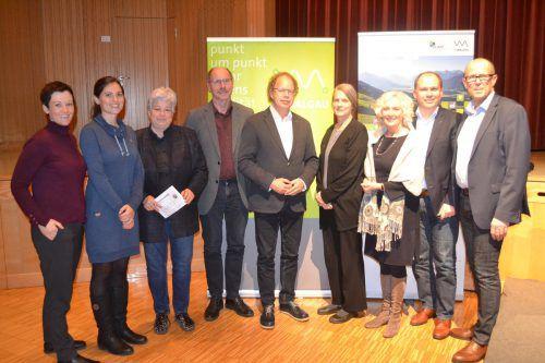 Die Regio ImWalgau ist seit dem Vorjahr KLAR-Region und war deshalb Veranstalter des Klimavortrags. EM