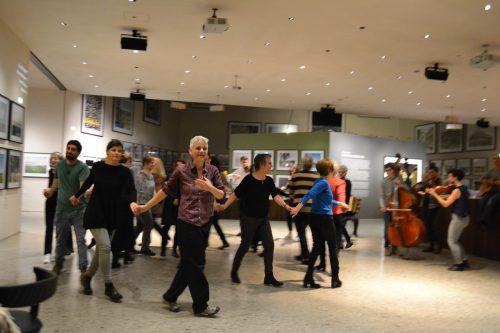 """Die Reihe """"Mit-Tanzen"""" wurde 2014 ins Leben gerufen, um den Volkstanz neu zu beleben. BI"""