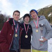 Skicross- und SBX-Titelkämpfefest in Oberländer Hand
