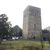 Aussichtsplattform für Tostner Burg