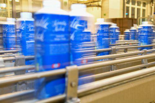 Die Verhandlungen zum Milchpreis betreffen Bauern und Molkereien in ganz Österreich, natürlich auch Vorarlberg Milch.VN/Lerch