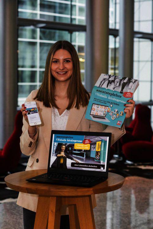 Die virtuelle Lehrlingsmesse bietet spannende Einblicke in die Welt der Lehre.VN