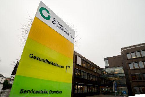 Die Vorarlberger Gebietskrankenkasse wurde zur ÖGK-Landesstelle. Sie überwies ihre Rücklagen von knapp 30 Millionen Euro an die Zentrale.VN/stiplovsek