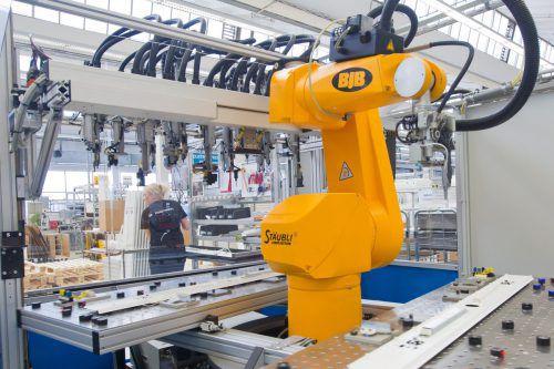 Die Vorarlberger Industrie ist auch auf eine abkühlende Konjunktur gut vorbereitet, davon sind Industriellenvereinigung und Wirtschaftskammer überzeugt. VN/Steurer