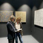 Textilkunst im Botta zu sehen
