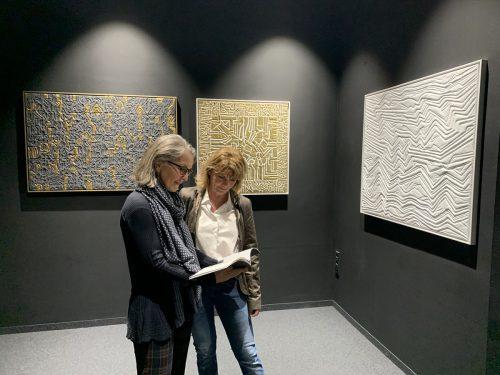 Die Werke vonRoswitha Buhmann sind im Botta zu sehen. Gemeinde
