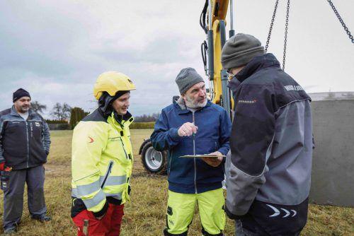 Die Winterakademie ist beim Hilti & Jehle-Nachwuchs beliebt, lernen sie doch seltene handwerkliche Fertigkeiten. FA