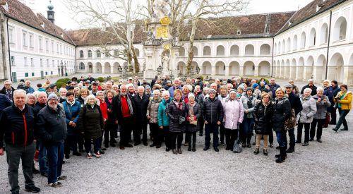 Die zahlreichen Mitglieder, die mit dem Seniorenbund nach Wien mitgekommen waren, verlebten drei schöne Tage.Seniorenbund