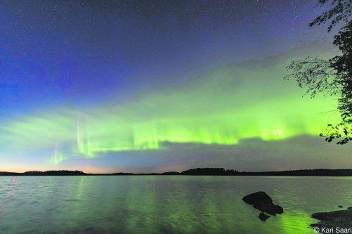 Diese Polarlichtwellen waren bisher komplett unbekannt. APA