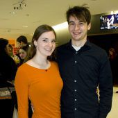 <p>Ebenso unter den Zuschauern waren Daniela Ritter und Benjamin Krickl.</p>