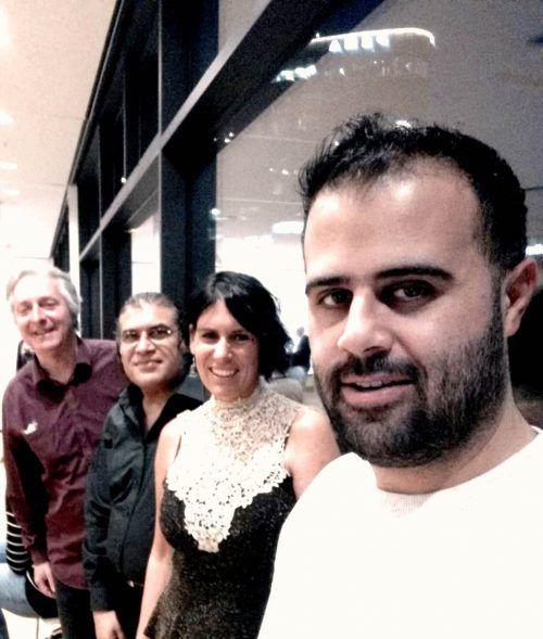 Ein Vielfalt an Musik fließt beim Ensemble Radio Diwanistan mit ein. radio Diwanistan
