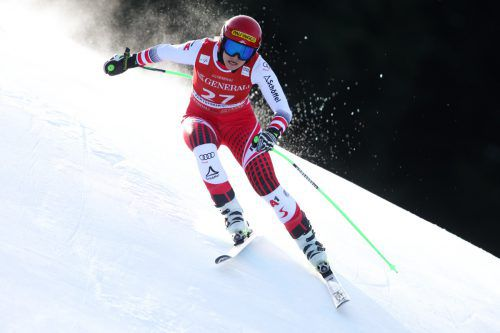 Elisabeth Reisinger war auf Platz zehn der Lichtblick im ÖSV-Team.gepa
