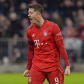 Bayern verteidigt dank Lewa die Tabellenführung